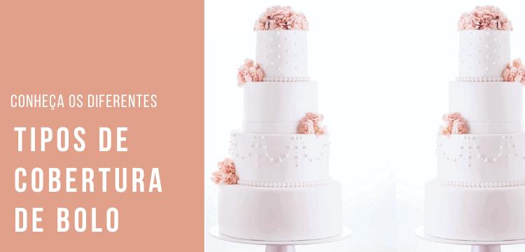 Cobertura bolo de casamento