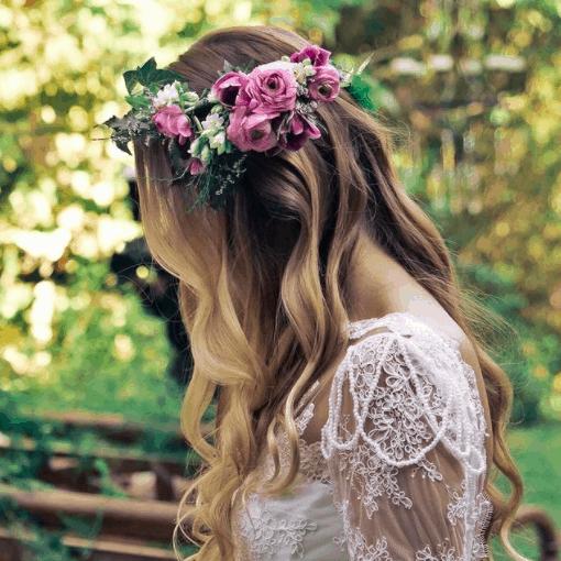 Grinalda-de-noiva-Renata-Paraiso-CaseMe-Tiara-de-flores