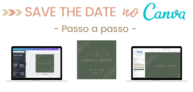 save the date Canva