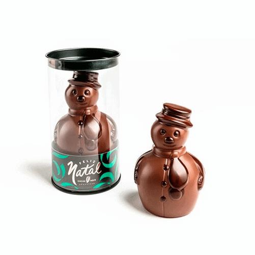 boneco-de-neve-de-chocolate-cacau-noir
