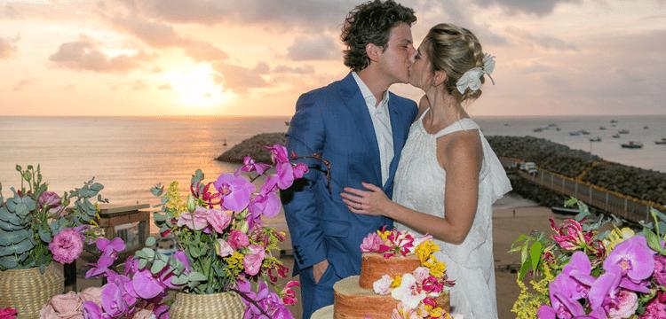 casamento na praia Fernando de Noronha
