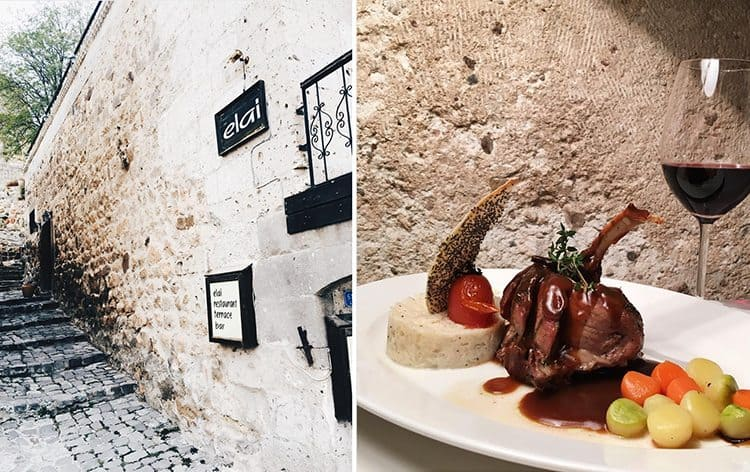 capadocia-restaurante-Elai-Cappadocia-entrada-e-prato