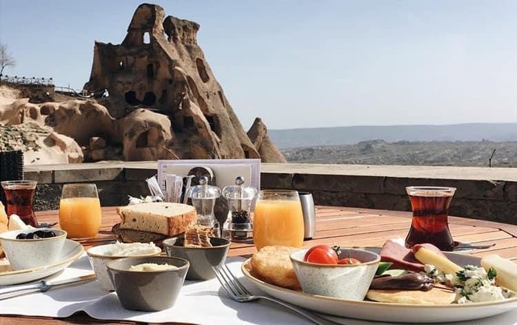 capadocia-restaurante-sekei-Cappadocia-brunch
