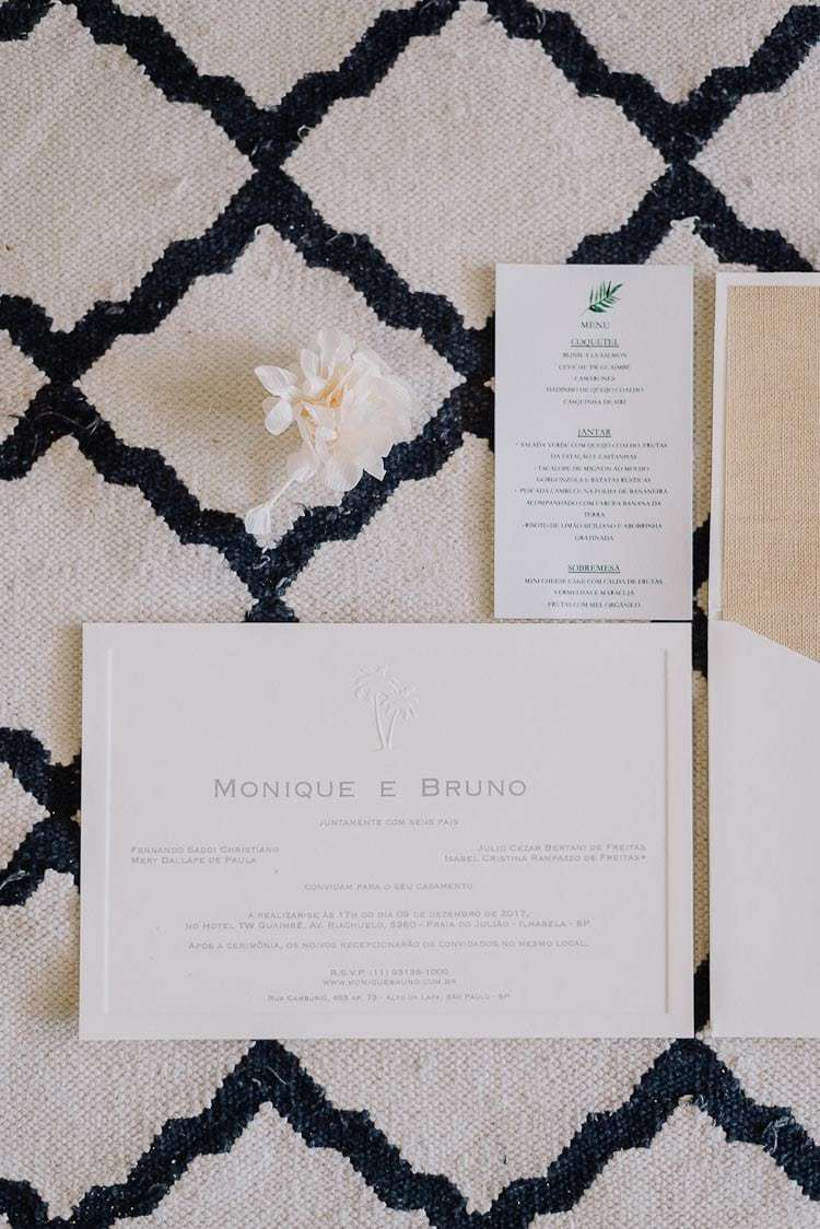 Convite-Fotografia-Aline-Ferreira-Greenery-Ilhabela-Monique-e-Bruno-Papel-Estilo-CaseMe