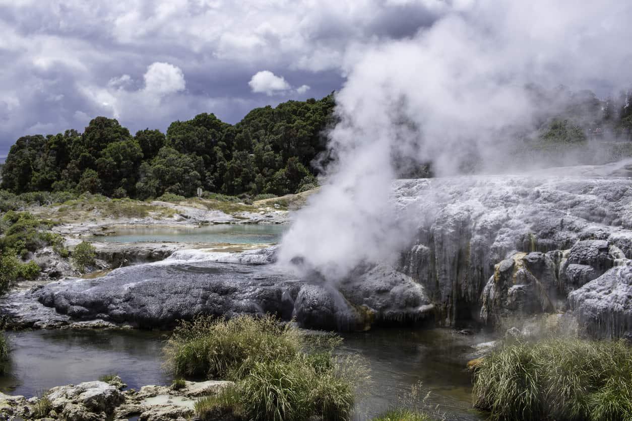 Gêiseres-em-Rotorua