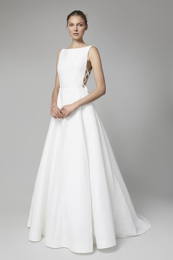 vestido-de-noiva-sem-renda-Lela-Rose-Bridal-Fall-2018