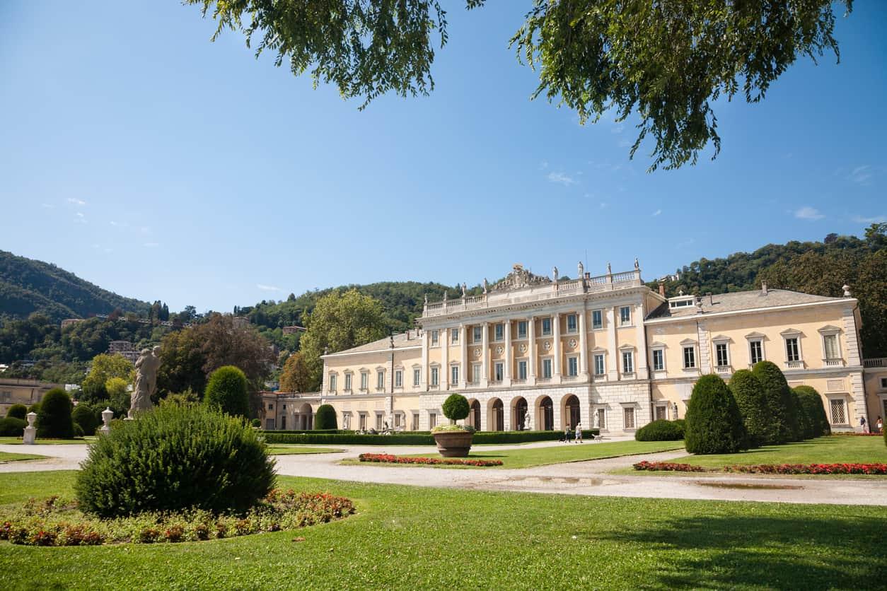 Villa-Olmo-na-cidade-de-Como