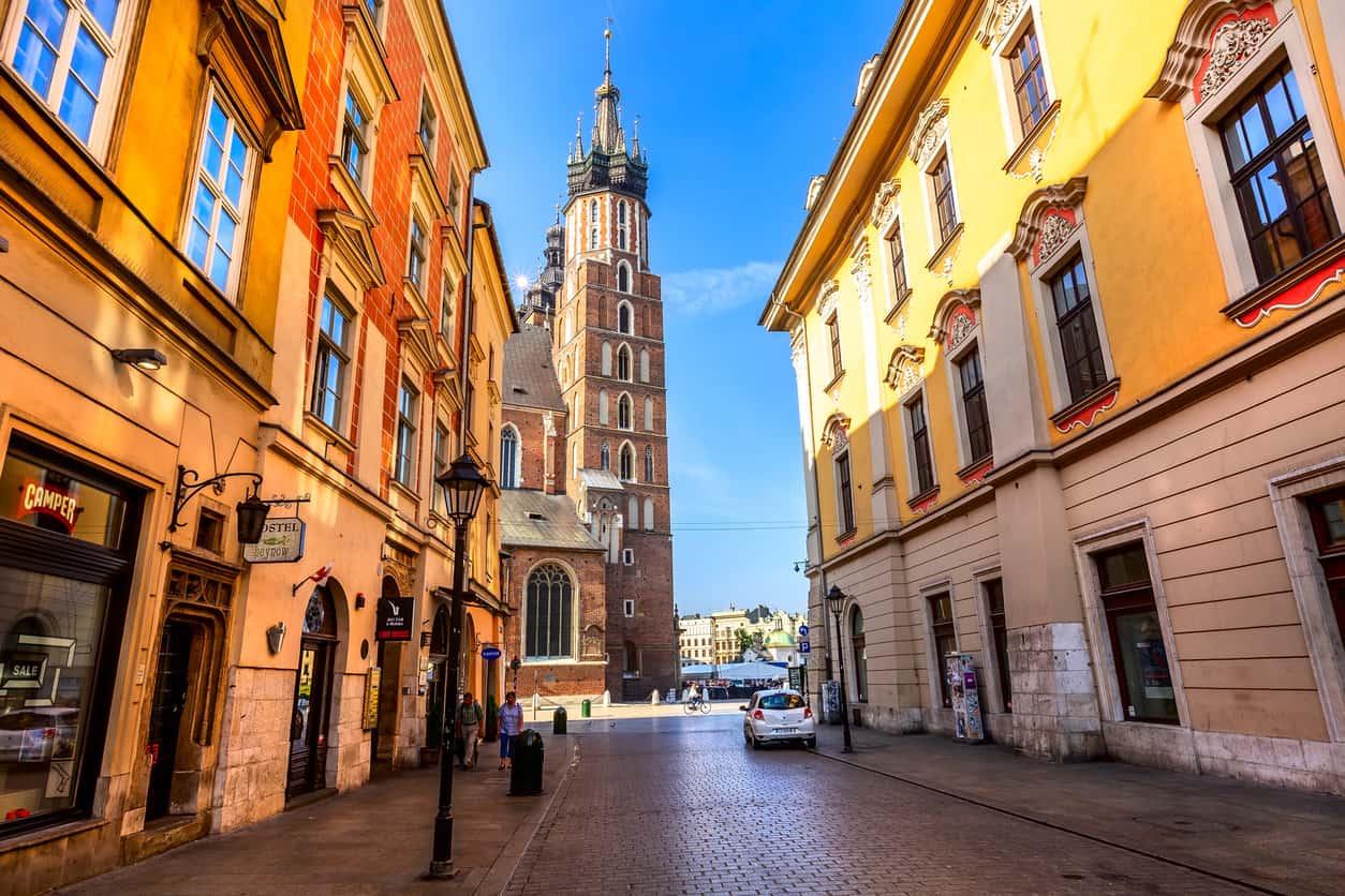 O-centro-histórico-de-Cracóvia-dono-de-grandes-tesouros-da-cultura-polonesa-foi-declarado-Patrimônio-Mundial-da-Humanidade-pela-Unesco.