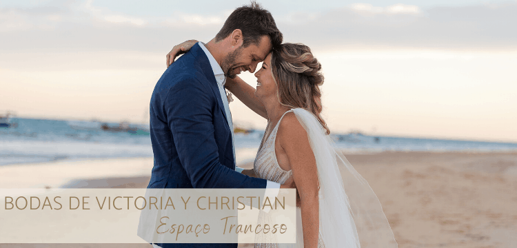 bodas de Victoria y Christian en Trancoso