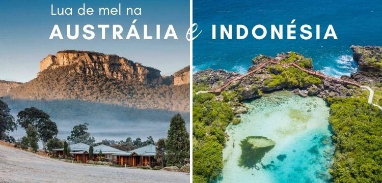 Lua de Mel na Australia e Indonesia
