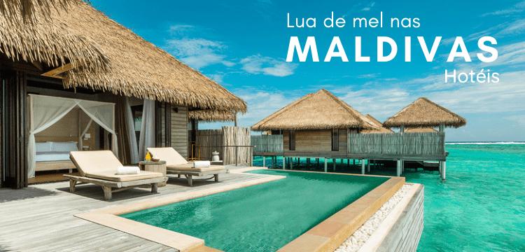 5 Hotéis para Lua de mel nas Maldivas