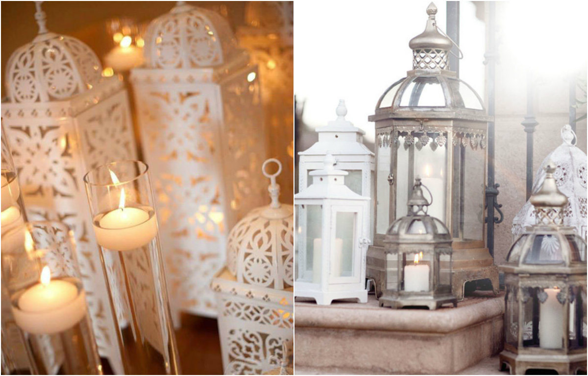 decoracao casamento gypsophila:Lanternas luminárias na decoração – Revista CaseMe
